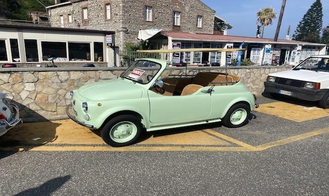 Passie voor Italia auto in italie